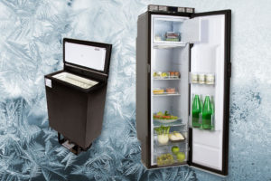 Ruimtebesparende koelkasten van Webasto