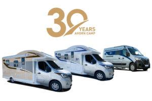 Jubileummodellen Ahorn Camp 30-Years-Edition