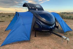 Earth Traveler T300: ruime maar vederlichte kampeertrailer