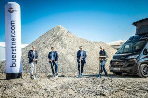 Bürstner start bouw van nieuwe chassishal in Kehl