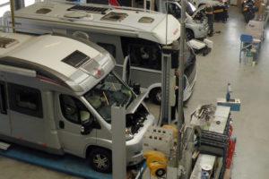 Erwin Hymer Group en merkdealers opleiding certificering werkplaatsen