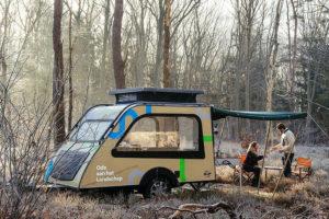NBTC toert met speciale Kip Shelter Panorama door Nederland
