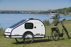Mody: compacte, lichtgewicht caravan voor e-bikers