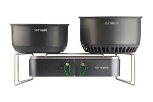 Optimus Gemini: slimme, ultralichtgewicht dubbele gasbrander