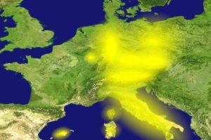 Veel Europese landen gaan naar 'geel'