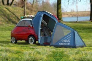 Microlino 2.0 Camper: klein maar fijn