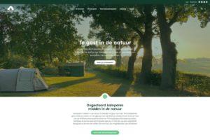 website Natuurkampeerterreinen