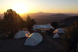 Entry Line tenten van Snow Peak voortaan ook in Ivory verkrijgbaar
