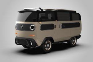 Elektrisch eBussy bestelwagenconcept gaat volgend jaar als XBUS in productie