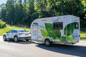 Dethleffs E-Home Coco steekt de Alpen over
