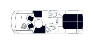 Niesmann + Bischoff iSmove 7.3F indeling