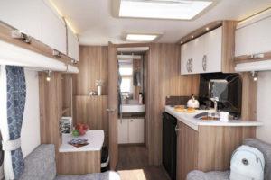 Sprite Alpine Sport caravan