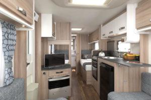 Sprite Mondial SE caravan