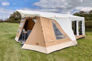 Combi-Camp lanceert vouwwagens met duurzaam Ecohemp tentdoek