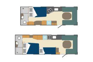 Polar caravans 2022 nieuw exterieurdesign