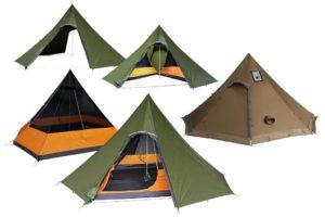Luxe Outdoor Sil Octapeak F8 tent