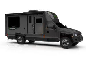 All-Electric RV Concept toont elektrische camper met 4×4 en fors rijbereik