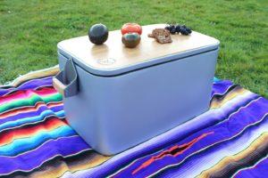 Wooly koelbox is helemaal gemaakt van eco-vriendelijke materialen