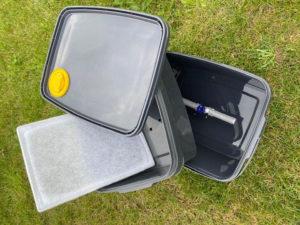 Smarttank vuilwatertank filter